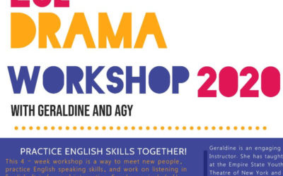 ESL Drama Workshop 2020